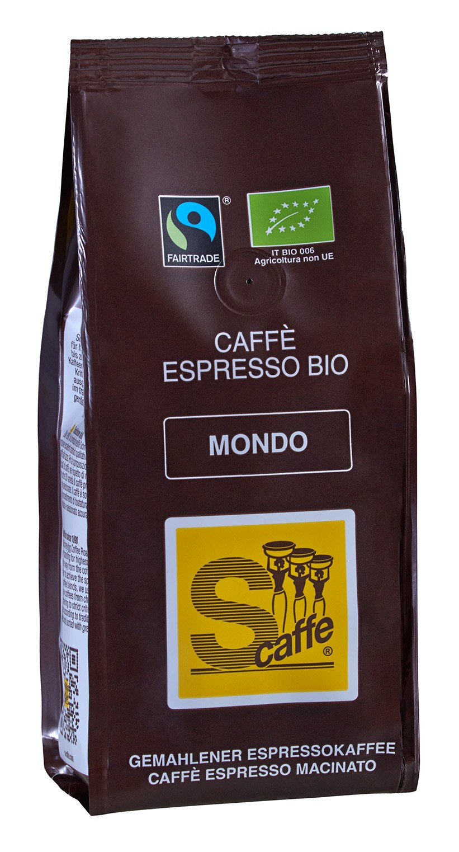 S-Caffe Filterkaffee Bio Mondo 250g
