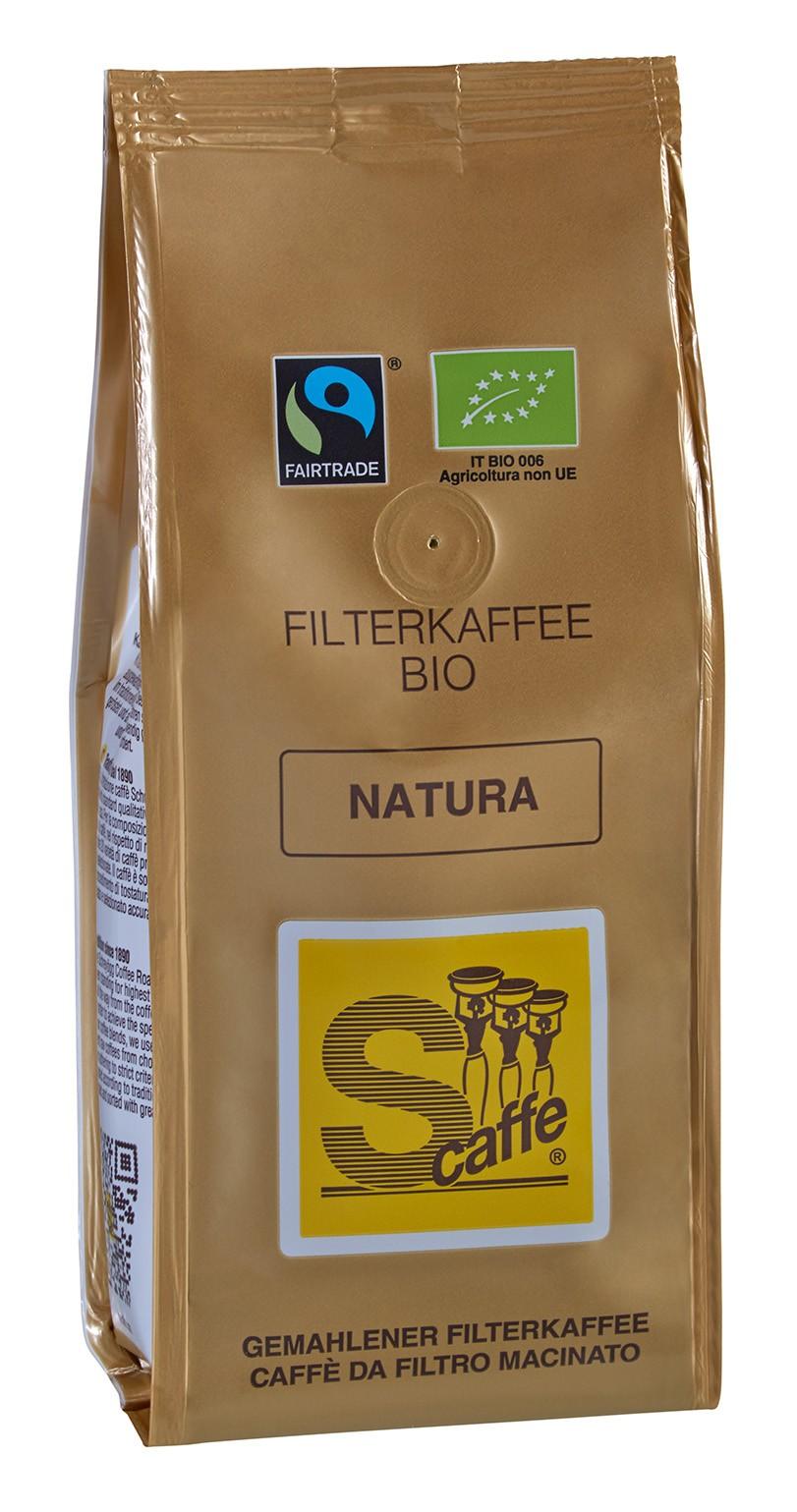 4a1d2d32b909d6 Filter coffee natura organic fair trade 250g S-Caffe Online Shop of Coffee  Roasting Company Schreyögg