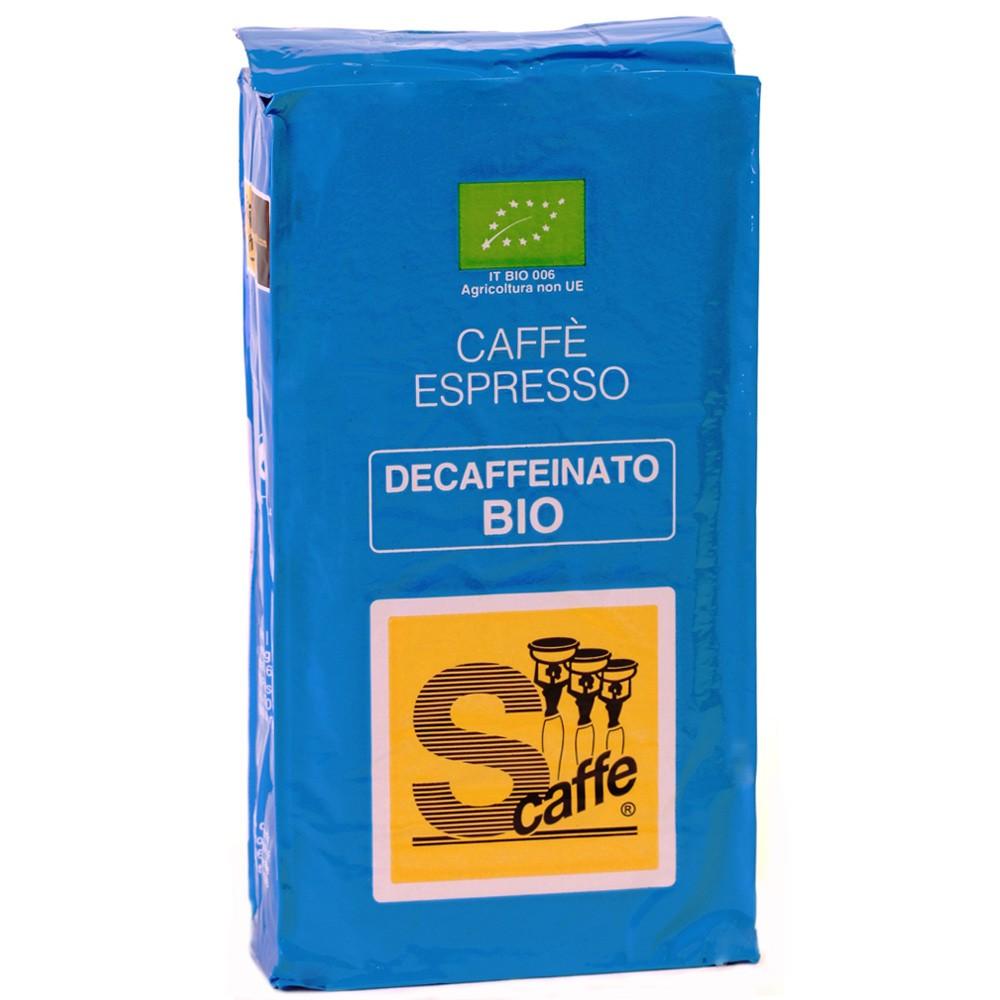 Caffè Espresso Decaffeinato Bio Gemahlen S